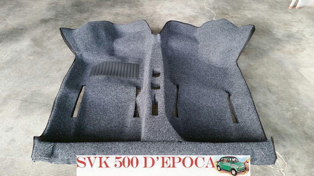 SVK 500 D\'EPOCA vendita online TAPPETO MOQUETTE PREFORMATO FIAT 500 ...